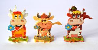 Mrkací kráva - Die lustige Kuh
